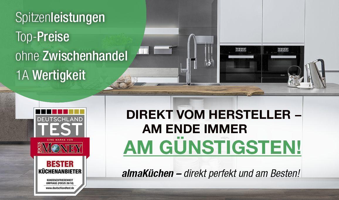 alma KÜCHEN - Direkt vom Hersteller