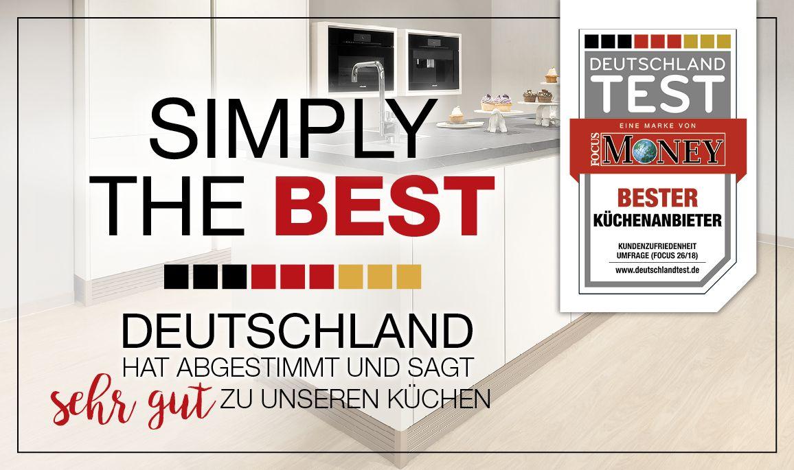 alma KÜCHEN - im Küchenanbietertest von DEUTSCHLAND TEST und FOCUS