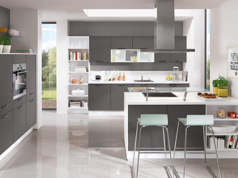 Minimalistisches Küchendesign liegt im Trend